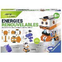 Jeux Scientifiques SCIENCE X RAVENSBURGER Midi Energies Renouvelables Jeu Educatif