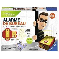 Jeux Scientifiques SCIENCE X RAVENSBURGER Mini Alarme de Bureau Jeu Educatif