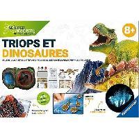 Jeux Scientifiques SCIENCE X RAVENSBURGER Triops et Dinosaures Jeu Educatif