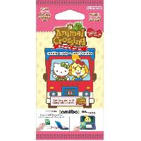 Jeux Video 2 Paquet 6 cartes Animal Crossing New Leaf Welcome amiibo Pack Sanrio