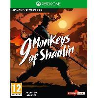 Jeux Video 9 Monkeys Of Shaolin Jeu Xbox One