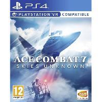 Jeux Video Ace Combat 7 - Skies Unkown Jeu PS4-VR - Bandai Namco Entertainment