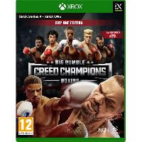Jeux Video Big Rumble Boxing : Creed Champions - Day One Edition Jeu Xbox One et Xbox Series X