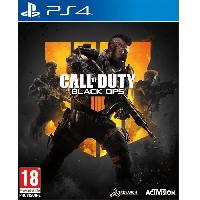Jeux Video Call of Duty Black OPS 4 Jeu PS4 - Activision