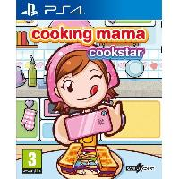 Jeux Video Cooking Mama - Cookstar Jeu PS4
