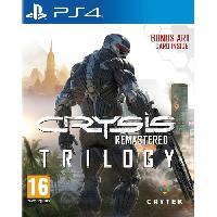 Jeux Video Crysis : Remastered- Trilogy Jeu PS4