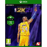 Jeux Video NBA 2K21 Edition Mamba Forever Jeu Xbox Series X