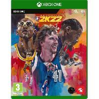 Jeux Video NBA 2K22 - Édition 75eme Anniversaire Jeu Xbox One