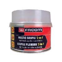 Joint D'etancheite - Mastic FACOM Mastic polyester souple 2en1 - Avec durcisseur - 500 g
