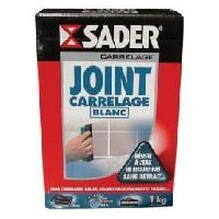 Joint D'etancheite - Mastic SADER Boîte Joint blanc Poudre - 1kg