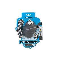 Jouet A Friandise EBI Jouet Chien TORNADO F3 - Avec corde - 13-30KG -  GRIS -  110x89x89mm
