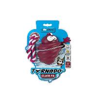 Jouet A Friandise Jouet Chien TORNADO F3 - Avec corde 13-30KG - ROUGE - 110x89x89mm