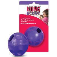 Jouet A Friandise KONG Balle a remplir de friandise Cat Treat Ball - Pour chat