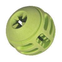 Jouet A Friandise VADIGRAN Balle en TPR - 8 cm - Vert pomme - Pour chiens