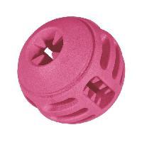 Jouet A Friandise VADIGRAN Ballon en TPR - 8 cm - Rouge - Pour chiens