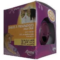 Jouet AIME Balle friandise - Pour chat