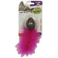 Jouet AIME oeufs avec herbe a chat compresse - Jouet pour chat