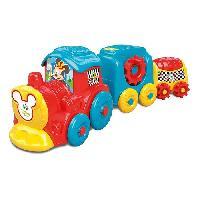 Jouet A Tirer - A Pousser CLEMENTONI Disney Baby - Train d'activites Mickey - Jeu d'eveil