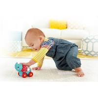 Jouet A Tirer - A Pousser FISHER-PRICE - Elephant - Ami Jungle a Roulettes - Fisher Price