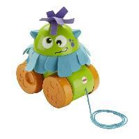 Jouet A Tirer - A Pousser FISHER-PRICE - Mon Monstre a Tirer - Mattel