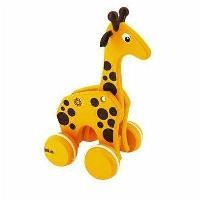Jouet A Tirer - A Pousser Girafe A Tirer