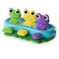 Jouet A Tirer - A Pousser Grenouilles Rigolotes - Bop et Giggle Frogs