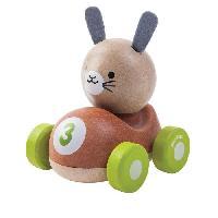 Jouet A Tirer - A Pousser PLAN TOYS Bunny le Lapin de Course