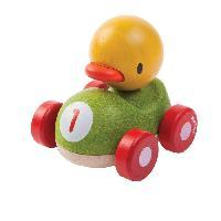 Jouet A Tirer - A Pousser PLAN TOYS Ducky le Caneton de Course