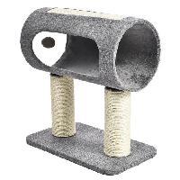 Jouet BUBIMEX Griffoir cylindre - 2 poteaux - 49 x 29 x 54 cm - Pour chat