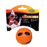 Jouet Balle crunchies TPR - Diametre 6 cm