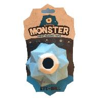 Jouet DEMAVIC Balle Monster - Bleu - Grande taille- Pour chien