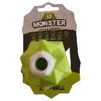 Jouet DEMAVIC Balle Monster petite taille - Verte - Pour chien