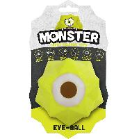 Jouet DEMAVIC Balle Monster pour chien - Vert - Grande taille