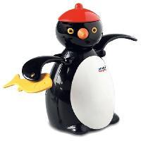 Jouet De Bain AMBITOYS Peter le pingouin - 12 mois - Multicolore - Plastique - 9 x 9 x 14 cm - Ambi Toys