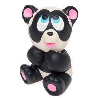Jouet De Bain LANCO Jouet de bain Panda - Des la naissance - Noir - Caoutchouc naturel - 5x6x7 cm