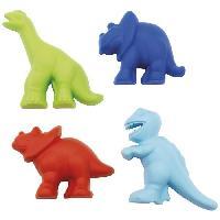 Jouet De Plage - Jouet De Bac A Sable Filet 4 moules dinosaures