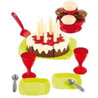 Jouet D'imitation ECOIFFIER - 2513 - Gâteau d'anniversaire