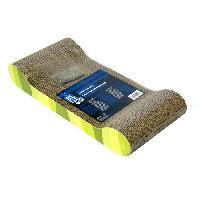 Jouet Griffoir carton ondulé 49x22x75 cm zebre vert Cat It