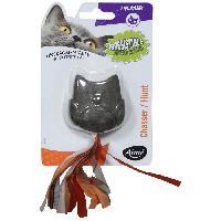 Jouet Hibou avec herbe a chat compresse - Pour chat