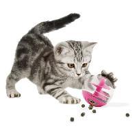 Jouet Jouet chat rose a friandises Cat It