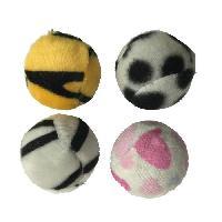 Jouet Jouet pour chat - Set de 4 balles -Zebrees - Polyester - O4cm - Aucune