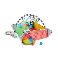 Jouet Premier Age BABY EINSTEIN Tapis d'éveil Patch's 5 en 1 Color Playspace? Activity Gym & Ball Pit