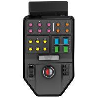 Joystick - Manette - Volant Pc BY LOGITECH Farm Sim Vehicle Side Panel