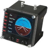 Joystick - Manette - Volant Pc BY LOGITECH Pro Flight Instrument Panel