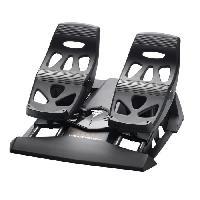 Joystick - Manette - Volant Pc Joystick Flight Rudder Pedals Palonnier a glissieres PCPS4