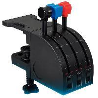 Joystick - Manette - Volant Pc SAITEK BY LOGITECH G Pro Flight Throttle Quadrant