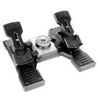 Joystick - Manette - Volant Pc SAITEK BY LOGITECH PRO Flight Rudder Pedals