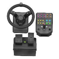 Joystick - Manette - Volant Pc SAITEK Farm Sim Controller Simulateur de tracteur - Logitech