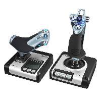 Joystick - Manette - Volant Pc by LOGITECH X52 Flight Control System