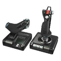 Joystick - Manette - Volant Pc by LOGITECH X52 Pro Flight Control System